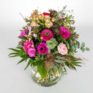 Pinkiger Blumenstrauss von Flora Tina