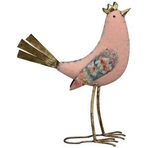 Statue Oiseau Couronne Aliénor