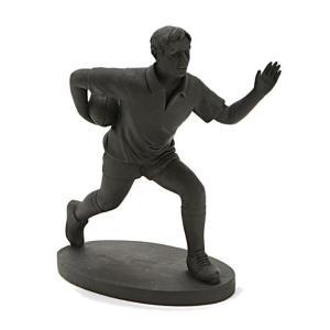 Statue Rugbyman Noir Adelyne