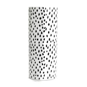 Vase Blanc et Noir Alfreda