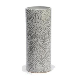 Vase Graphik Calandra Gris
