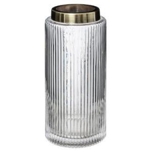 Vase Transparent Annabelle H26
