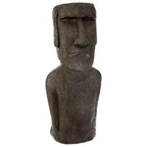 Statue Île de Pâques Résine H80