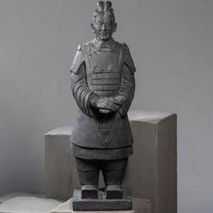 Statue Soldat Xian Debout H102cm