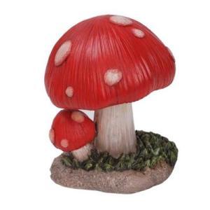 Figurine Champignon Amanite MM Rouge