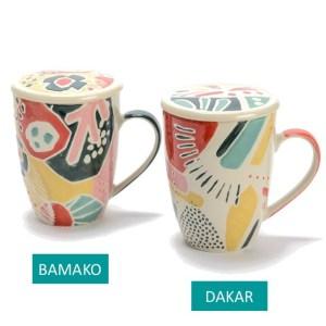 Coffret Mug et Filtre Dakar et Bamako