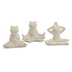 Statue Grenouille Zen