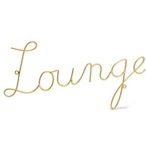 Décoration Métal Lounge 39cm