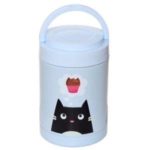 Boîte Repas en Acier Inoxydable Feline Fine Cat