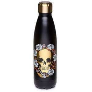 Gourde Isotherme Ralina Skulls and Roses