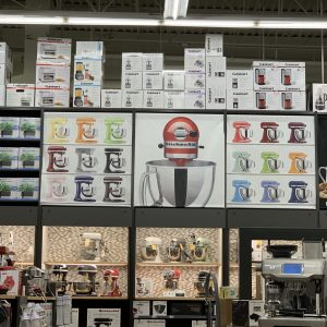 Perimeter Wall Graphics in Bed Bath & Beyond