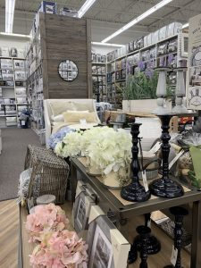 Vignettes in Bed Bath & Beyond