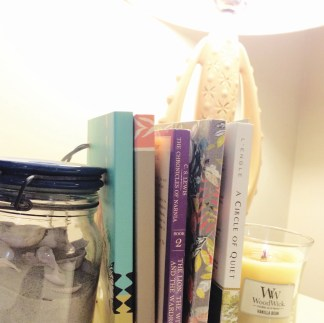 currently reading Circle of Quiet by Madeleine L'Engle and The Lion, the Witch, and The Wardrobe by CS Lewis