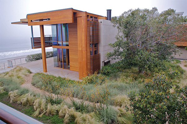 sustainable garden design malibu