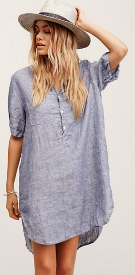 Rolled Sleeve Henley - Free People $168