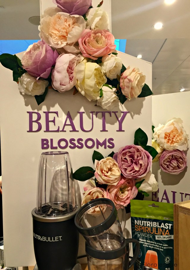 NutriBullet Brown Thomas Beauty Blossoms Garden Pop Up Floralesque