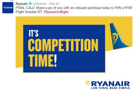 Ryanair compediton Floralesque Tips for flying with Ryanair