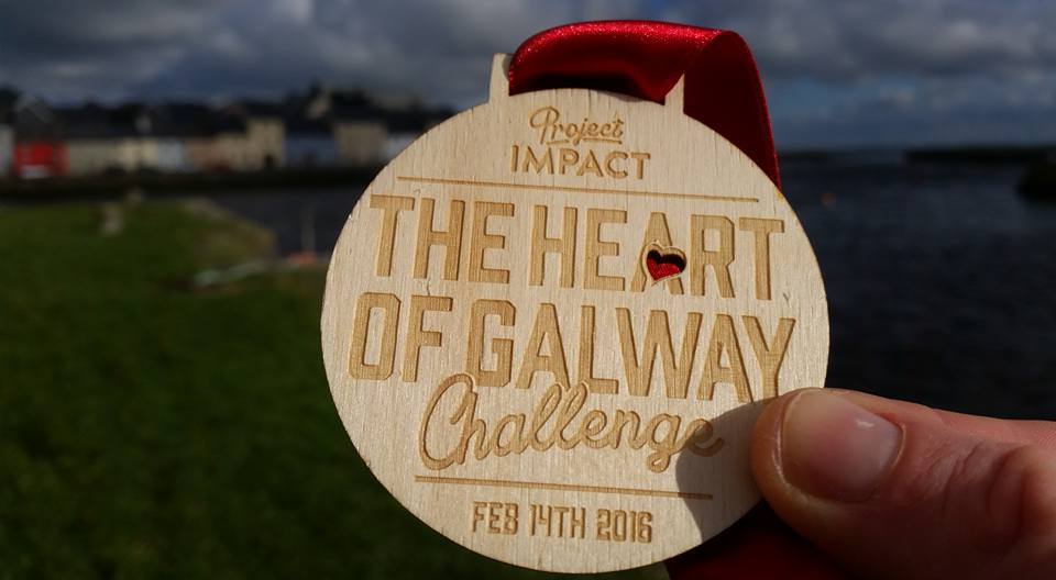 The Heart of Galway Challenge Medal Floralesque
