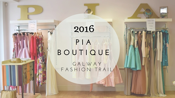 Galway Fashion Trail Floralesque PIA Boutique