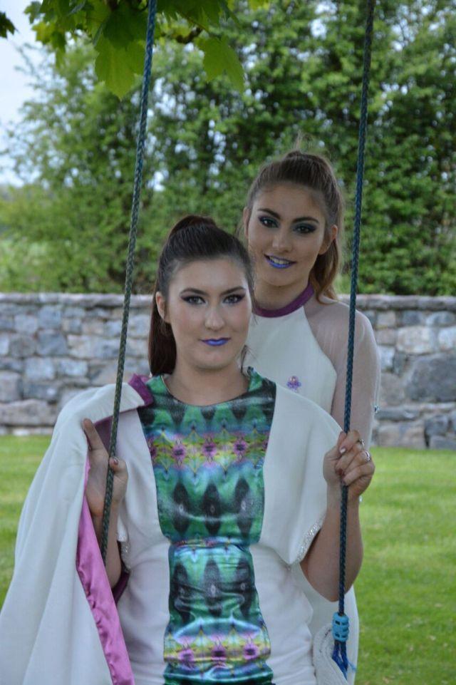 2016 Fashion Graduate Showcase Exhibition Sligo Floralesque Roseanne Mc Namee 5