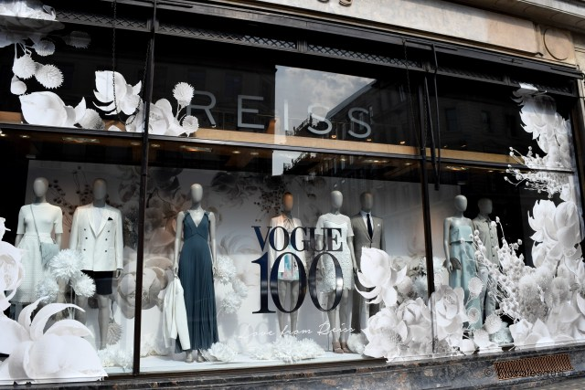 Retail Stores Celebrating Vogue's 100 Year Anniversary Floralesque 1