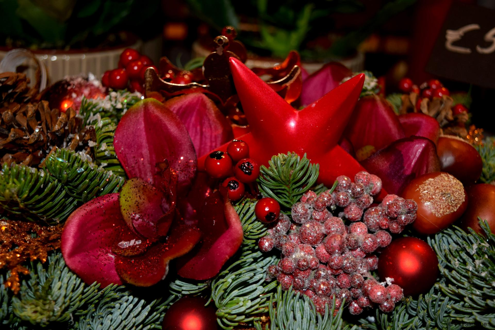 Feehily's Florist Christmas Flower Demonstration Floralesque