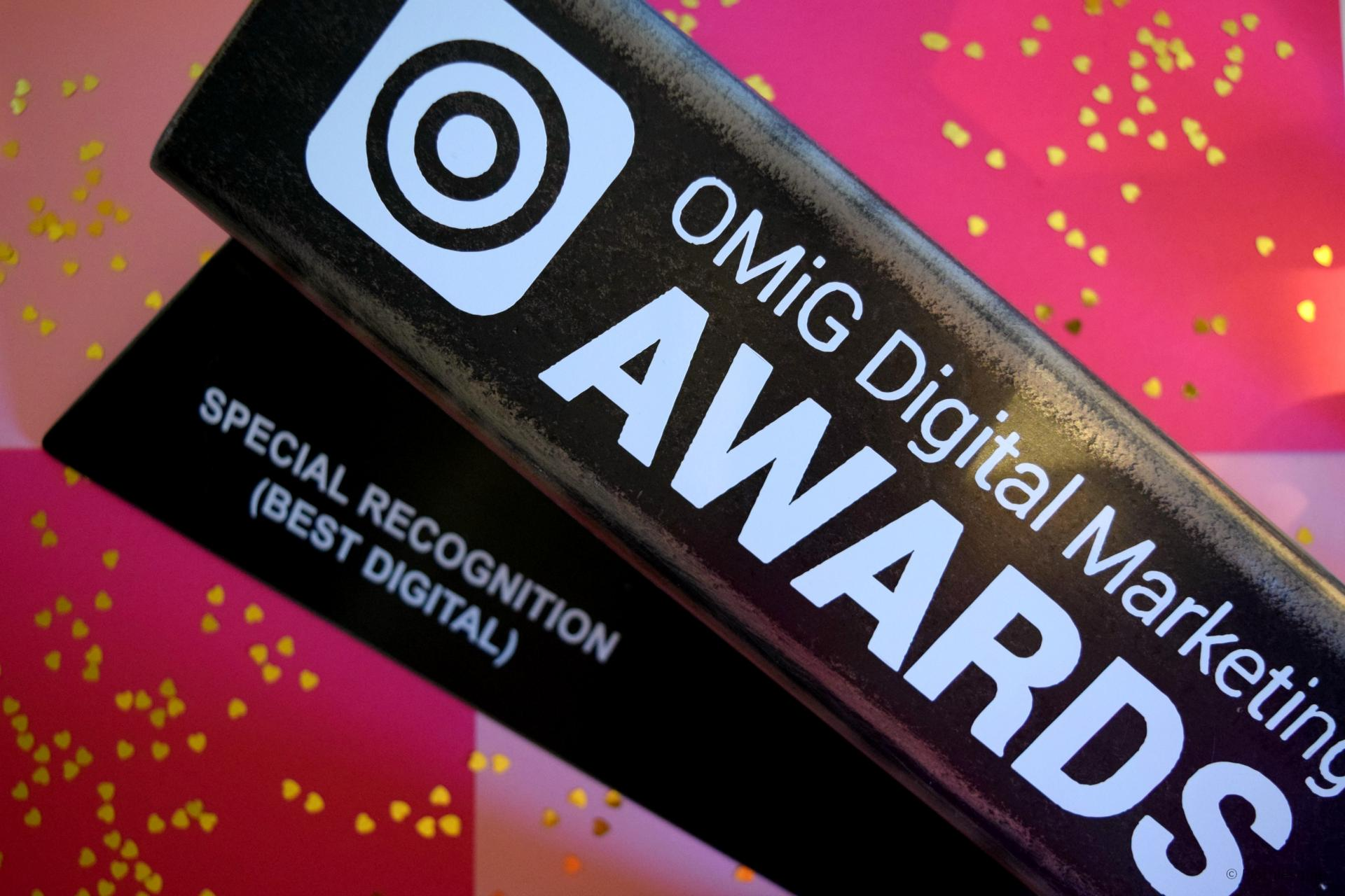 Floralesque Won - OMiG Digital Marketing Awards 2017