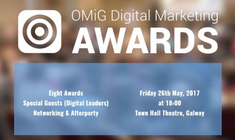OMiG Digital Marketing Awards 2017 Finalist