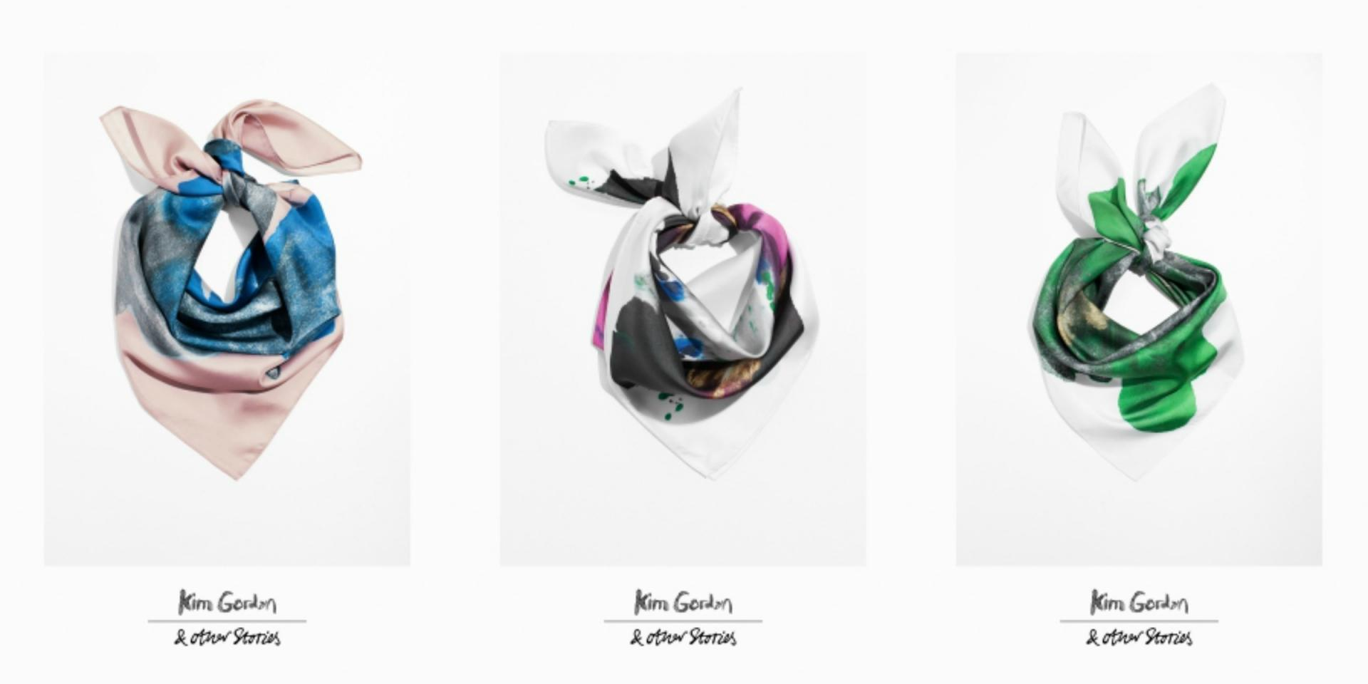 Kim Gordon collaboration with & Other Stories