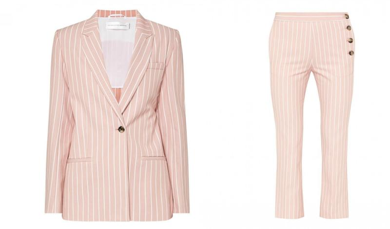 Trend Report Female Power Suits Are Back