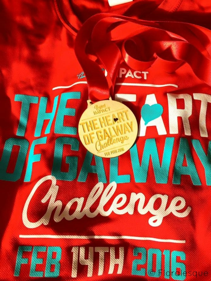 The Heart of Galway Challenge Medal image by Floralesque
