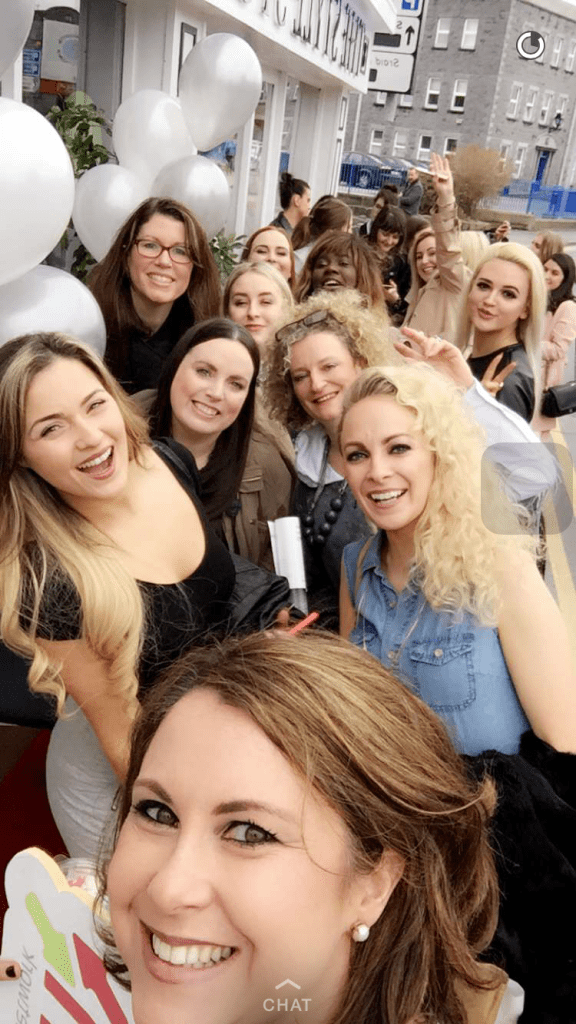 The Galway Fashion Trail Selfie
