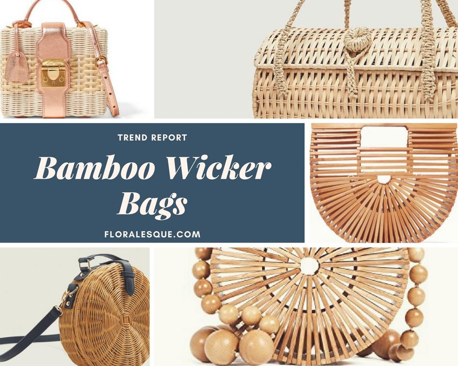 Trend Report: Bamboo Wicker Bags