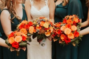 Bridal Bouquets and Flowers