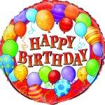 18 Inch Birthday Balloons