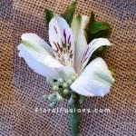 Alstroemeria-Boutonniere