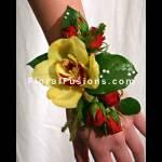 Cymbidium-Orchids-Roses-Brunei-Salal-Corsage