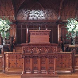 First Presbyterian Church - Modern Rustic Altar Arrangements