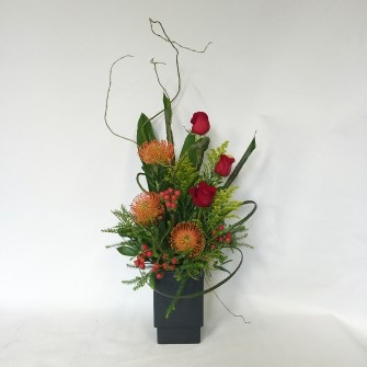 Partial Tropical Modern Arrangement