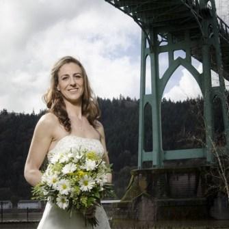 Daisy bridal bouquet