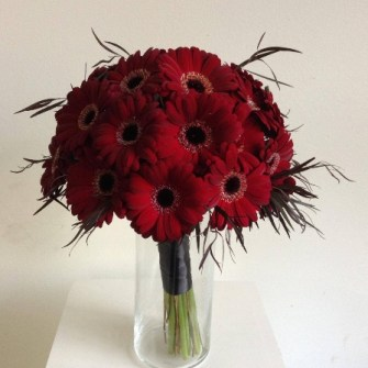 All gerbera daisies bridal bouquet
