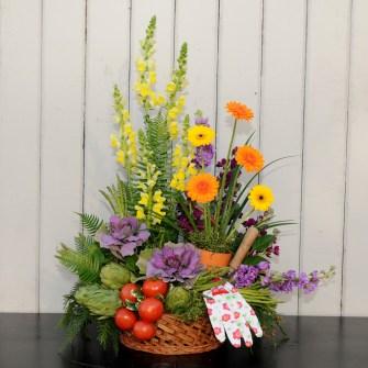 Avid gardener's basket