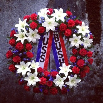 Patriotic Memorial Wreath