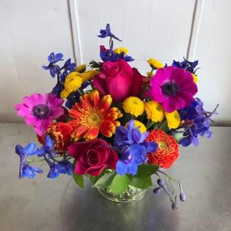 bright & vibrant arrangement