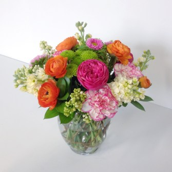 another medium fresh spring arrangement