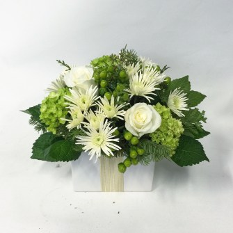Holiday Floral Present - Medium Size