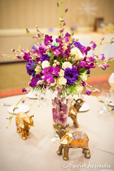 Flower arrangements gallery floral sunshine purple gold flowers mightylinksfo
