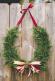 Horseshoe Door Wreath Holiday Door Hanger Front Door Decor Horse Shoe Wreath Fresh Holiday Wreath Floral V Designs