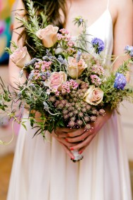 wildflower style bouquet by flor amor