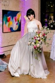 large boho bridal bouquet by flor amor